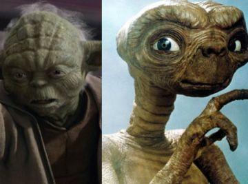 Yoda y E.T. tienen más en común de lo que parece