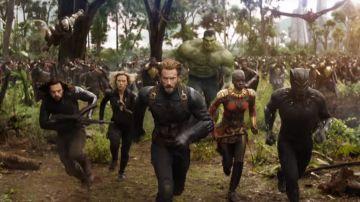 Los Vengadores y el ejército de Wakanda en 'Vengadores: Infinity War'
