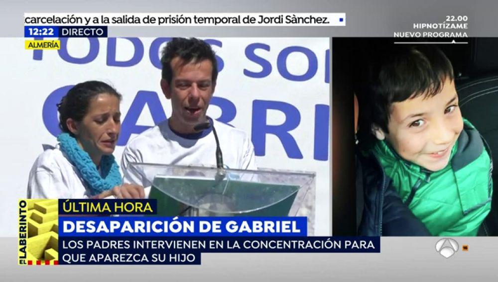 """Los padres de Gabriel: """"Tenemos la esperanza más encendida que nunca y apelamos al corazón de quien lo pueda tener para rogarle que se ponga en su piel"""""""
