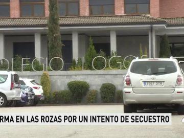 """El relato del menor al que intentaron secuestrar en Las Rozas: """"Uno me agarró y otro vino corriendo, pero me solté y salí corriendo"""""""