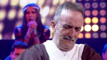 El Monaguillo hace llorar a Santi Rodríguez con su monólogo en 'Hipnotízame'