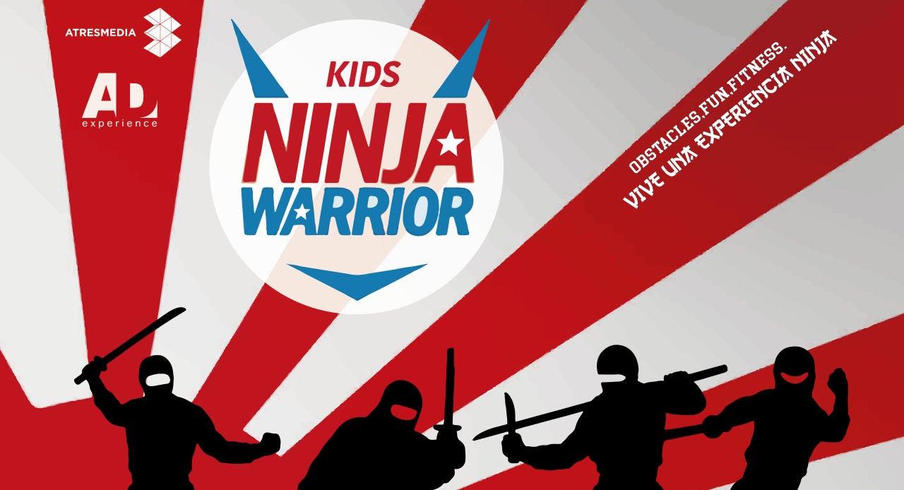 Llega a tu ciudad en su versión infantil 'Kids Ninja Warrior'