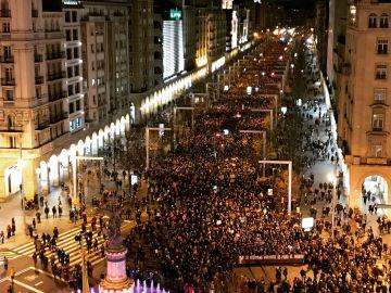 Manifestación 8-M Zaragoza