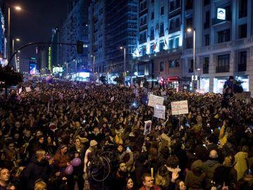 Manifestación feminista 8 de marzo Madrid