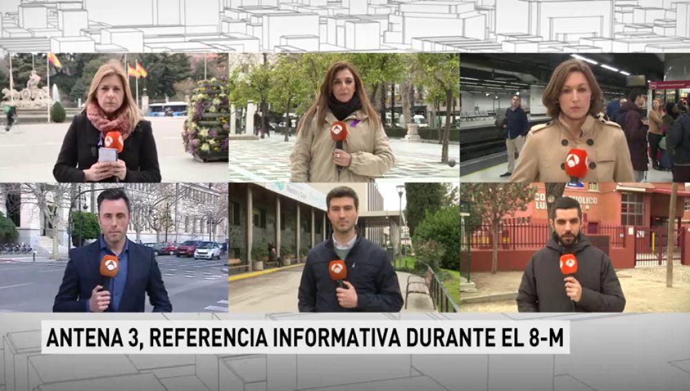 Los espectadores escogen Antena 3 Noticias