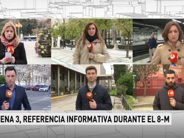 Los espectadores escogieron Antena 3 Noticias para informarse en la jornada del Día de la Mujer