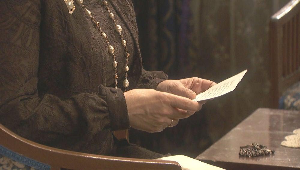 Una carta de María desde Cuba llega a Puente Viejo