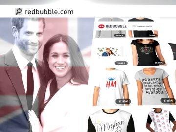 Harry y Meghan ya están en tazas, camisetas, fundas de móvil y todo lo que se pueda vender