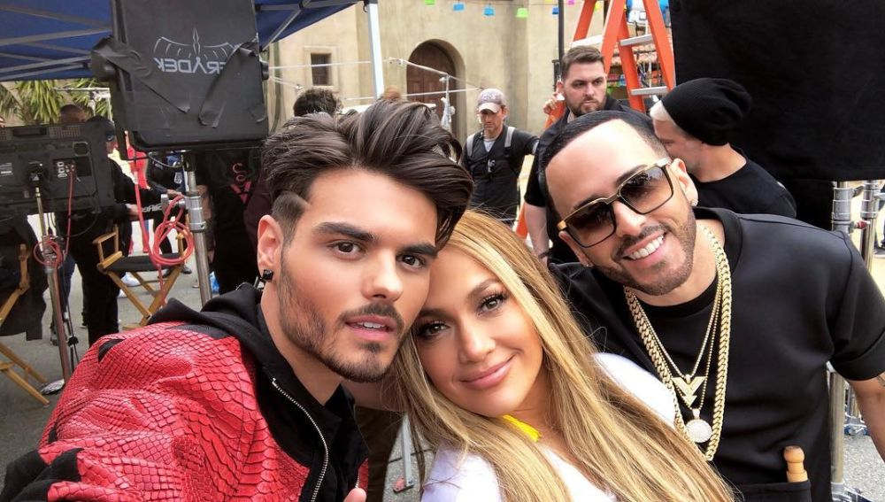 Abraham Mateo canta 'Se acabó el amor' junto a Jennifer Lopez y Yandel