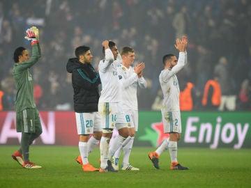 El Real Madrid, en París