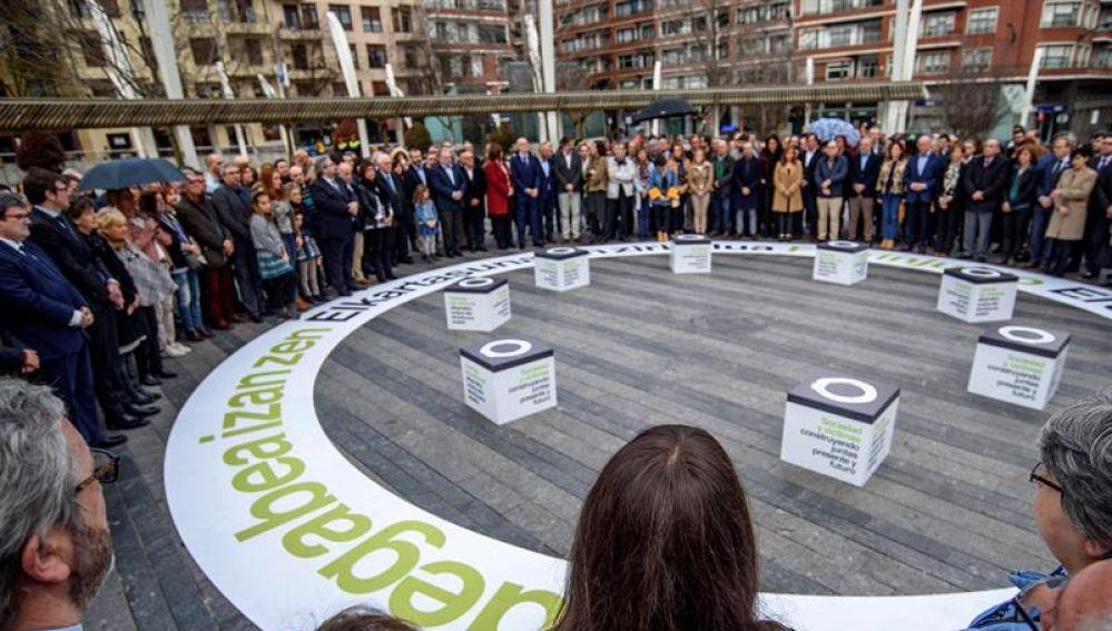 Acto de concentración en el País Vasco