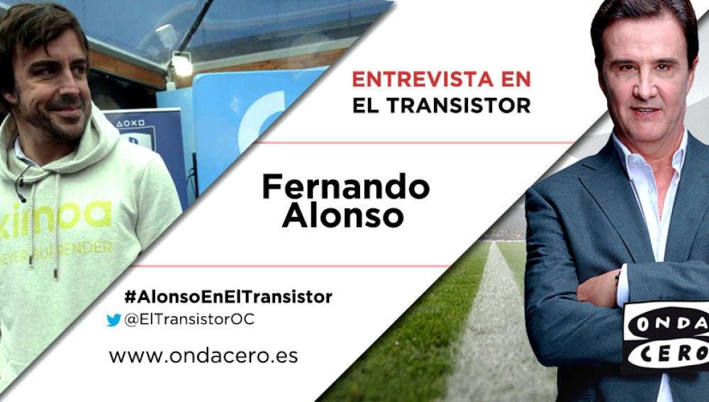 Fernando Alonso en El Transistor
