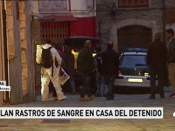 Hallan restos de sangre en la casa del detenido por la muerte de Paz Fernández