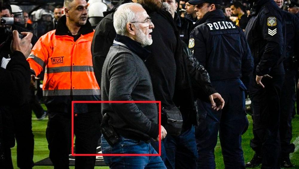 El presidente del PAOK