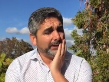 Juan José Cortés envía todo su apoyo a la familia de Gabriel Cruz