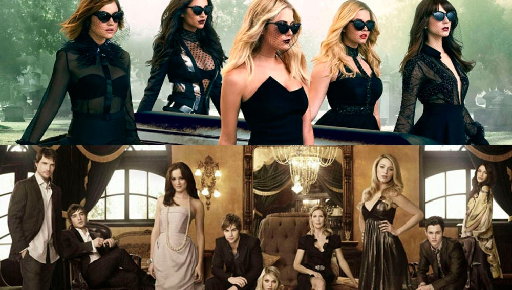 'Gossip Girl' y 'Pretty Little Liars'