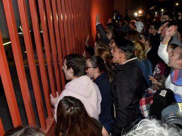 Concentraciones frente a la Comandancia de la Guardia Civil de Almería