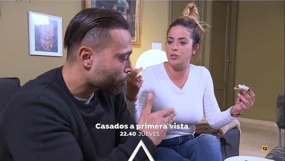"""Dámaris le recrimina a Gabriel: """"Yo quiero un tío con personalidad"""""""
