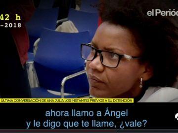 Conversación de Ana Julia Quezada