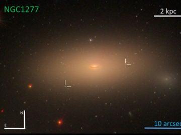 Imagen del estudio realizado por el Instituto de Astrofísica de Canarias