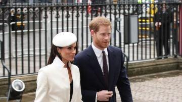 El look que ha escogido Meghan Markle para su primer acto con la Reina