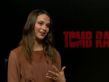 Hablamos con Alicia Vikander por 'Tomb Raider'