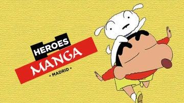 Shin Chan te invita al Héroe Manga de Madrid por su 15 aniversarios