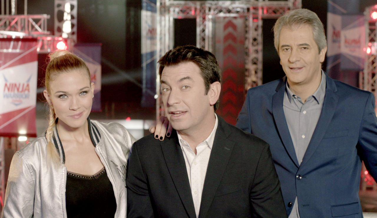 Muy pronto, estreno de la segunda temporada de 'Ninja Warrior', con Arturo Valls, Manolo Lama y Patricia Montero