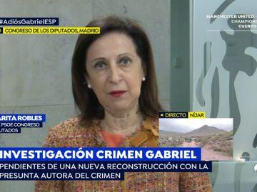 """Robles, sobre el debate de la prisión permanente revisable en el Congreso: """"Se produce por un cálculo electoral y de competencia entre PP y Ciudadanos"""""""