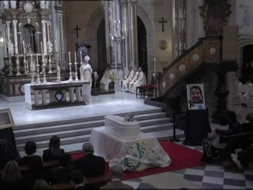 Funeral de Gabriel en la Catedral de Almería