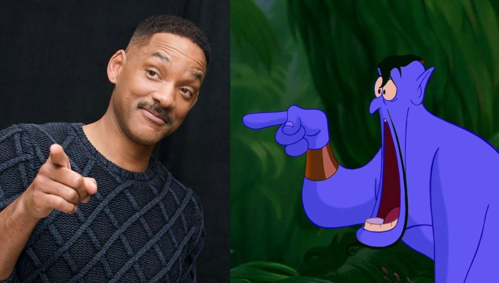 Will Smith será el Genio en 'Aladdín'