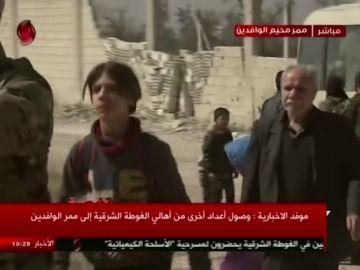 Comienza la evacuación médica de Guta Oriental en Siria