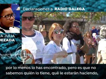 Así de afectada se mostraba Ana Julia Quezada al relatar su declaración de lo sucedido ante una radio