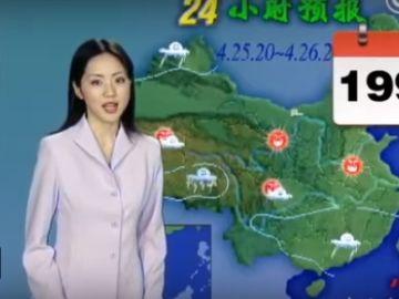 Yang Dan, la meteoróloga que no envejece