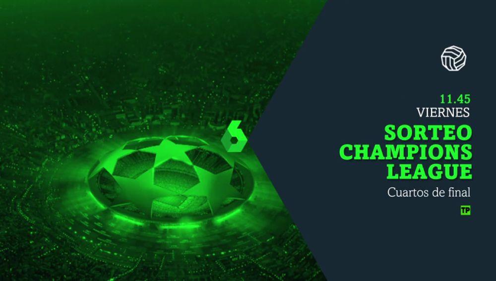 ANTENA 3 TV   Promo sorteo cuartos de final de Champions Total