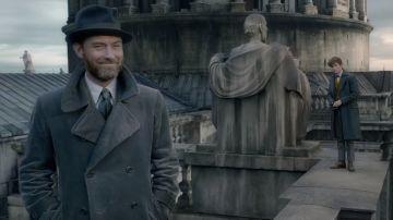 Dumbledore y Scamander en 'Animales Fantásticos 2'