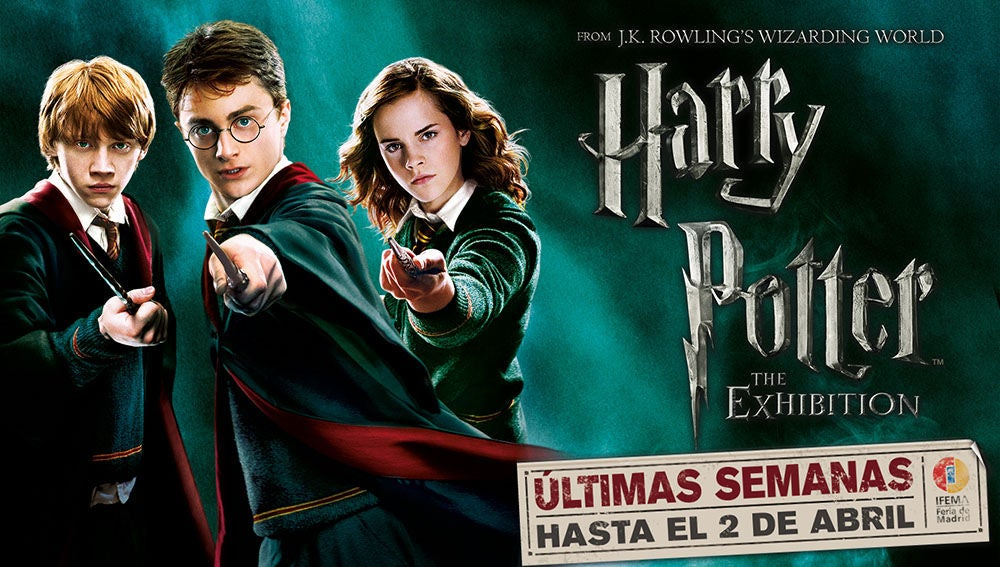 Concurso 'Harry Potter: The Exhibition'
