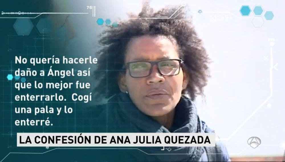 Los investigadores sospechan que Ana Julia Quezada pensaba descuartizar el cuerpo de Gabriel para deshacerse de él