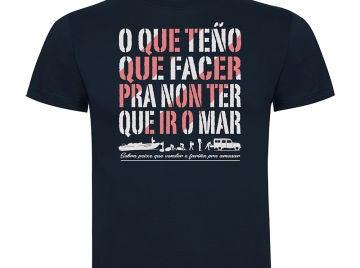 Camiseta 'Fariña' canción marino