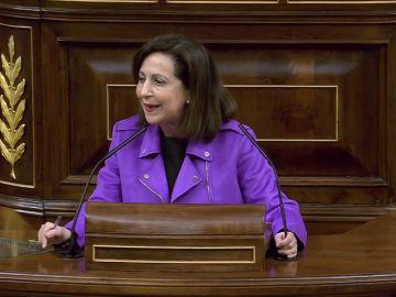"""Margarita Robles acusa a Mariano Rajoy de """"tomar el pelo"""" a los pensionistas"""