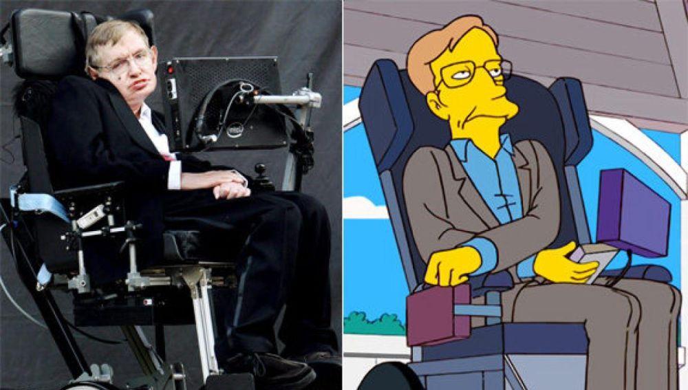 Stephen Hawking en 'Los Simpson'