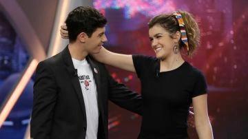 Amaia y Alfred en 'El Hormiguero 3.0'