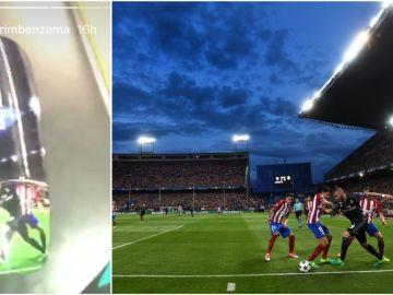 Benzema inmortaliza su gran jugada en el Calderón