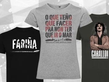 Participa en nuestro concurso y consigue una camiseta oficial de 'Fariña'