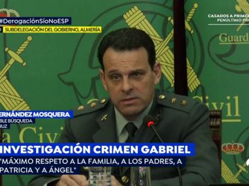 """La Guardia Civil asegura que no hay terceras personas implicadas en la muerte de Gabriel: """"Para nosotros la autoría es de Ana"""""""