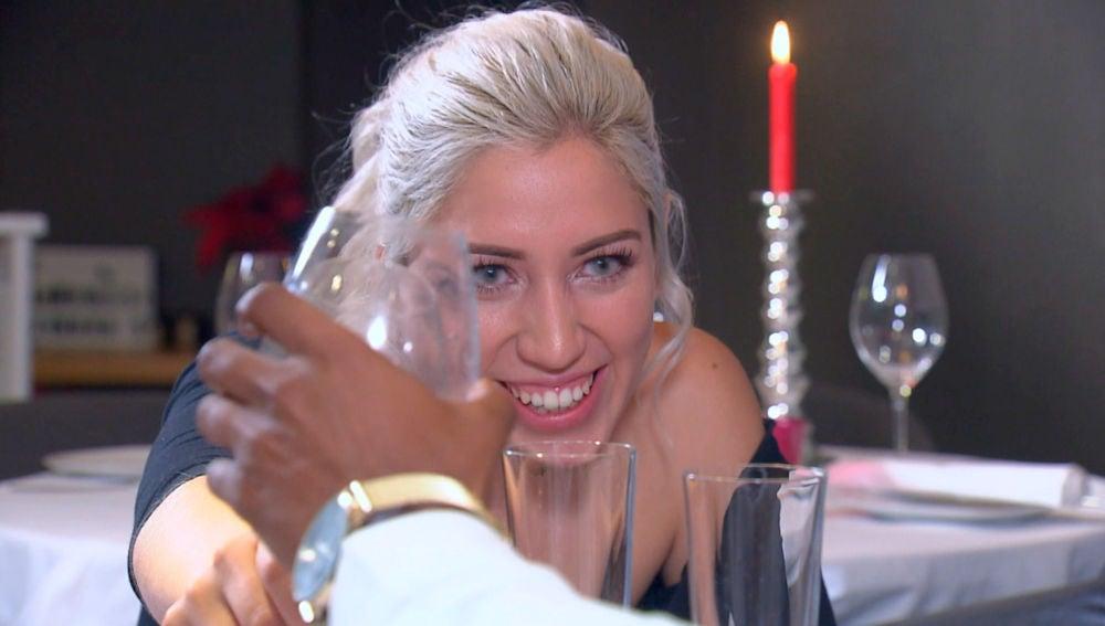 La romántica cena de 'Pollito's team'