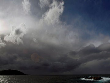 Imagen del cielo en A Coruña