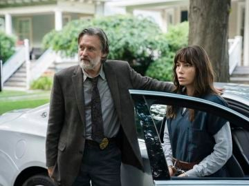 Bill Pullman y Jessica Biel en 'The Sinner'