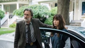 Bill Pullman y Jessica Biel en 'The Sinner'