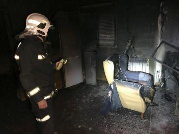 Incendio en Murcia
